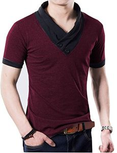 Fashion Gallery Men's V-Neck Cotton Tshirts | Tshirts for Men | Casual wear for Men