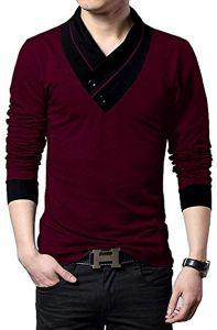 Fashion Gallery V-Neck   Regular Fit   T-Shirts For Men's, Medium