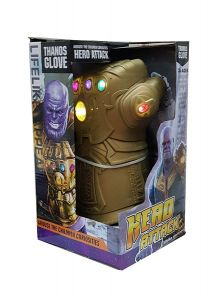 WON vengers End Game Infinity War Gauntlet Thanos Glove with Music & LED Lights for Kids Children