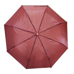 Real Star Premium Folding Umbrella for Women, Men and Kids with UV Protection (Maroon)