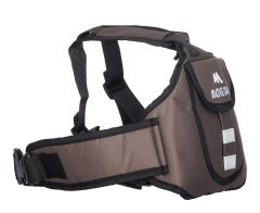 Move On Child Safety Belt for Children When Travelling on Motorbikes and Scooters. Belts Secures The Child to The Parent. Soft and Cushion Based Belt -LK Plain (45 MOCRAFT Brown)