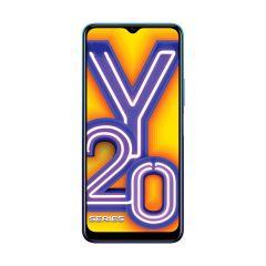 Vivo Y20i Smartphone (Nebula Blue, 3GB RAM, 64GB Storage) | Pack of 1