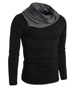 Fashion Gallery Sleeve | Full Cowl Neck | Very Soft T-Shirts|Regular Fit Cotton T-Shirts for Men's
