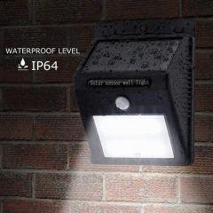 RSFuture Solar Powered Led Wall Light XF-6009 20 LED Motion Sensor Street Lights with Upgraded Solar Panel-242