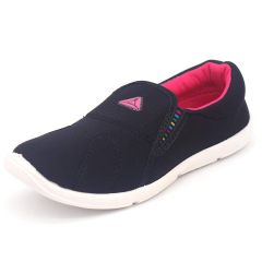SVAAR Velvet Black Ultra-Lightweight, Breathable and Super Soft Casual Shoes for Women