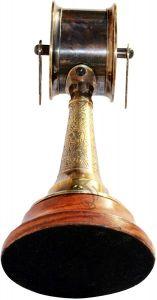 OCEAN REPLICAS  Brass Telegraph 6.5'' Vintage Ship Marine Engine Room Decorative Collectible