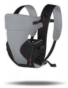 Kidsafebelt Baby Carrier (Grey/Black)