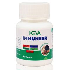 Keva Immuneer Tablets - Encriched with Powerful Natural Herbs - A Natural Immunity Booster for Men, Women & Children (50 Tablets)