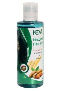 Keva Hair Oil for Hair loss and promote new hair growth (Pack of 1)