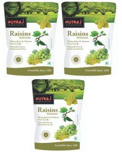 Nutraj Special Raisins (Round) 750 g (250 g X 3)