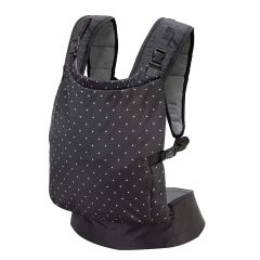 Kidsafebelt Baby Carrier with Inbuilt Zipped Pouch - Navy Blue