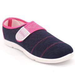 SVAAR Velcro Walking, Gym Sports Shoes for Women Pink