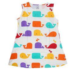Chocoberry - Printed Girls Kids Short Dress Aline Frock Summer Dress Super Soft Dress Cotton Hosiery One Piece for Girls
