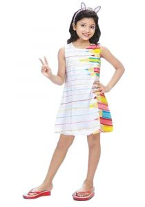 Chocoberry Girls' Knee Length Dress For Girls
