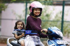 KIDSAFE Belt - Two Wheeler Child Safety Belt - World's 1st, Trusted & Leading (Blue)