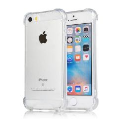 Plus Protective Soft Transparent Shockproof Hybrid Protection Back Case Cover with Original Packaging Kit for Apple iPhone 5S / Apple iPhone SE