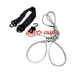 Albio Overhead Hand Shoulder Pulley Equipment Kit With Rope For Home Gym Exercise & Physical Therapy - Soft Handle
