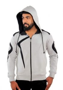 Fashion Gallery Stylish & Comfortable Full Sleeves Hooded Jacket for Men's - XL