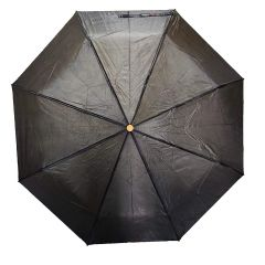 Real Star Premium Folding Umbrella for Women, Men and Kids with UV Protection (Black)