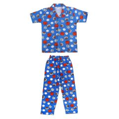 Bonnitoo Hydes Boys Kids Night Suit Super Cotton Nightwear