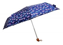 REAL STAR Umbrella for Men and Women, UV Protection for Summers & Rainy Season with Cover (Blue)