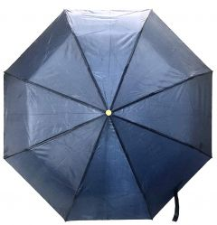Real Star Premium Folding Umbrella for Women, Men and Kids with UV Protection (Navy Blue)