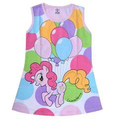 Chocoberry Girls' Mini Dress Printed Design