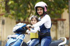 Kidsafe Two Wheeler Child Safety Seat Belt, Sport Yellow