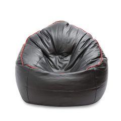 VSK Bean Bag Sofa mudda Cover XXXL (Without Beans) - Black