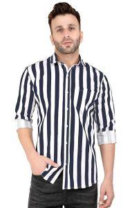 Peppyzone Men's New Fashionable Regular Fit Shirt (Pack of 1)