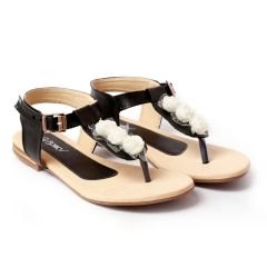 Bxxy's Synthetic Material Flat Sandals for Women's and Girls