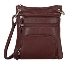 ASPENLEATHER Genuine Leather Cross Body Bag
