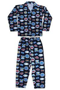 Bonnitoo Hydes Boys Kids Night Suit Super Soft Nightwear Cotton Boys Set