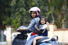 Kidsafe Two Wheeler Child Safety Seat Belt, Sport Navy Blue