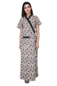 Hydses Babydoll Women's Cotton Night Suit   Night Gown