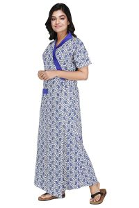 Baby Doll Babydoll Womens ladies Housecoat House coat Lounge Coat Robe Indian Nighty XL 100% Cotton