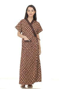 Babydoll Hydes Nighty   Sleepwear   Night Gown for Women Ladies   Front Open Adjustable   Clo_Nig_8287