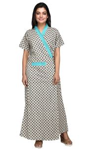 Babydoll ® 100% Pure Cotton Robe | Clo_Nig_5156