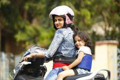 Kidsafe Two Wheeler Child Safety Seat Belt, Sport Royal Blue