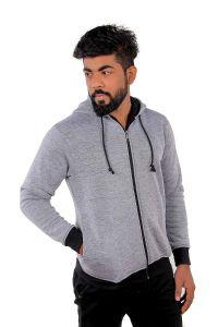 Fashion Gallery Men's Hooded Jacket Full Sleeves|Full Sleeves Hooded Jacket for Men