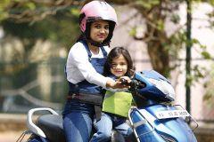 Kidsafe Two Wheeler Child Safety Seat Belt, Sport Green