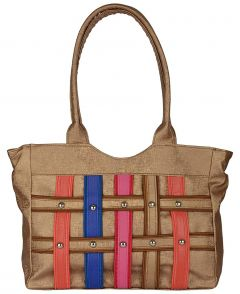 VSK Women's Canvas Handbag Multi-Colored