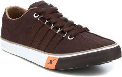 Men's Fashion Cotton & Casual Suitable Solid Shoes Brown