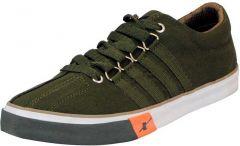 Men's Fashion Cotton & Casual Suitable Solid Shoes Green