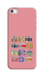Camera Art Design, Attractive and Unique Printed I Phone 5/5S/5SE Mobile Back Cover