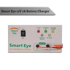 Smart Eye Automatic Battery Charger With 7 AH to 220 AH Battery Charging Capacity For Tabular, Inverter, AMF (Pack of 1)