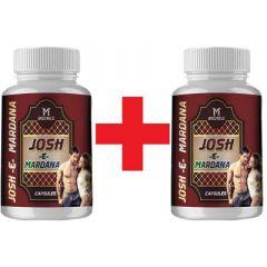 MEDNILE Josh-E-Mardana Energy & Durability Booster Capsule (60 Caps) (Buy 1 Get 1 Free)