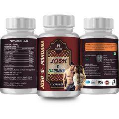 MEDNILE Josh-E-Mardana Energy & Durability Booster Capsule (60 Caps) (Buy 2 Get 1 Free)
