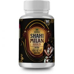 MEDNILE Shahi Milan Gold Capsule For Restores Energy & Improves Vitality, Physical S trength (60 Caps) (Pack of 1)