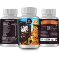MEDNILE Hard Rock Gold Energy & Durability Booster Capsule (60 Caps) (Buy 2 Get 1 Free)